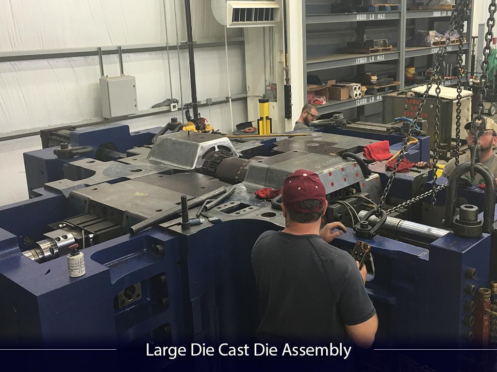 Large Die Cast Die Assembly