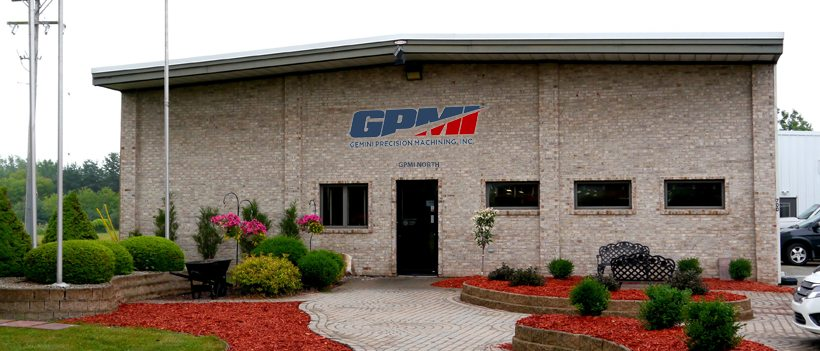 The exterior of the GPMI north precision machining facility.