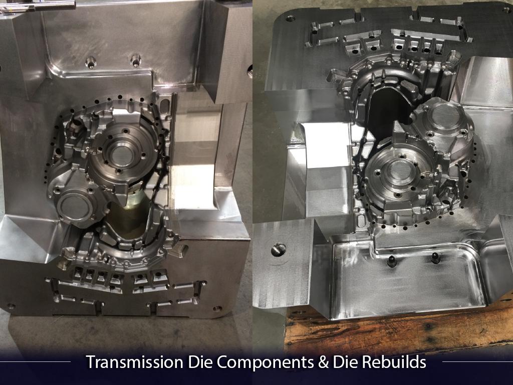 Transmission Die Components & Die Rebuilds