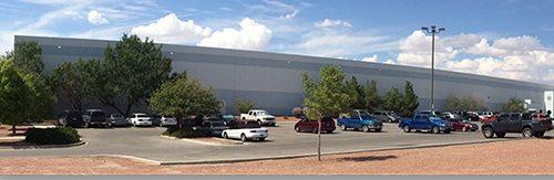 Panoramic view of Sierra Plastics facility.