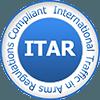 ITAR certification emblem