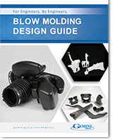 A thumbnail of the cover of a blow molding design guide.